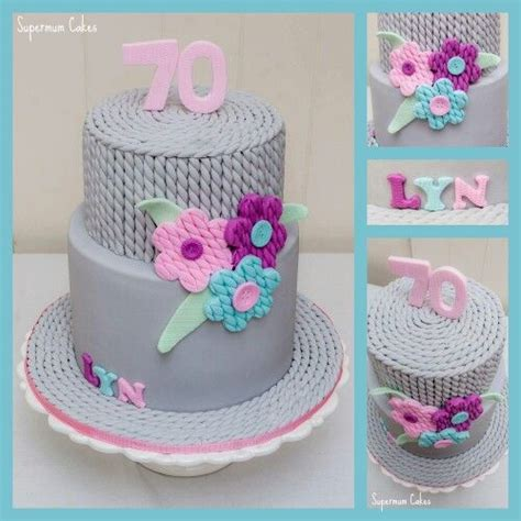 knitted birthday cake pattern 25 best ideas about knitting cake on fondant