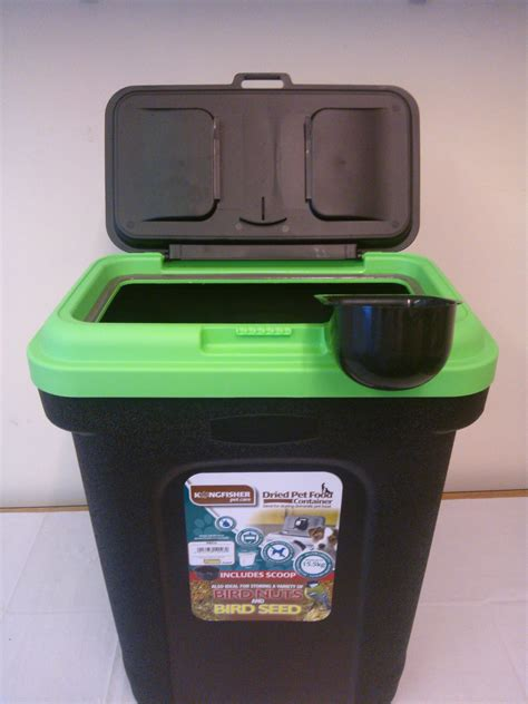 rubber st storage containers pet food storage container black green lid rubber