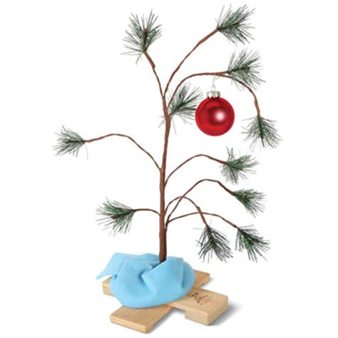peanuts musical decorations the brown musical tree hammacher schlemmer