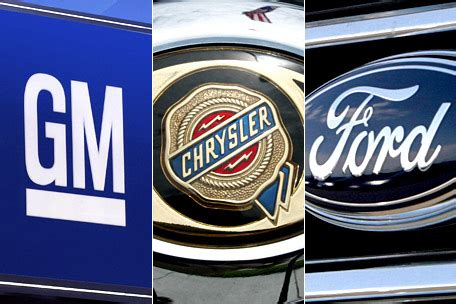 Gm Ford Chrysler by Gm Ford And Chrysler Almost Back To Pre Crash Employment