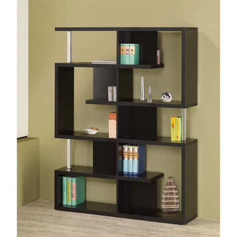 modern furniture bookcase modern bookcase black