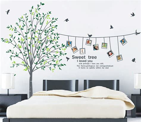 frame wall sticker sweet home i you photo frame wall sticker