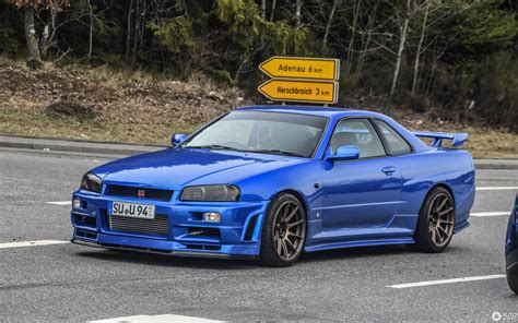 Skyline Gtr R 34 by Nissan Skyline R34 Gt R 2 April 2018 Autogespot