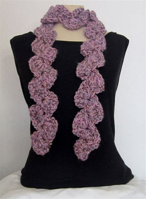 fancy scarf knitting patterns crochet scarf fancy crochet scarf purple crochet scarf