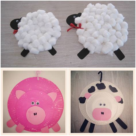 farm crafts for preschool farm animal activities for