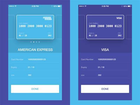 app for cards credit card checkout ui concept uplabs