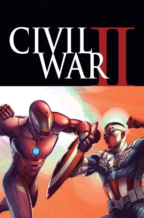 civil war ii marvel comics civil war ii spoilers iron vs captain
