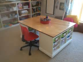 kid craft table with storage finished craft board lego table in the