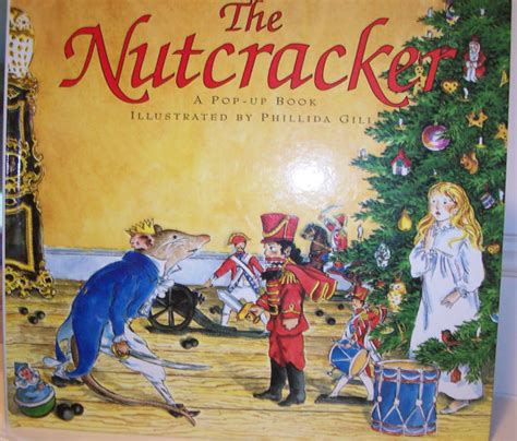 nutcracker picture book the nutcracker a pop up book by bookysnook on etsy