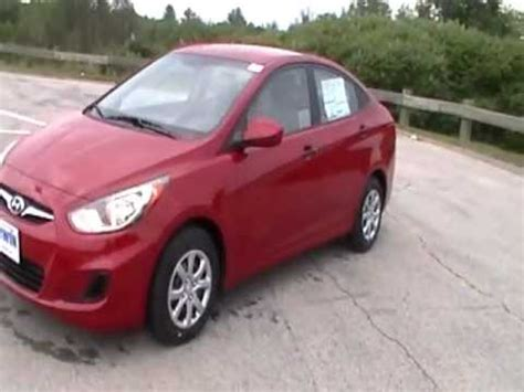 2012 Hyundai Accent Mpg by 2012 Hyundai Accent Gls 6 Speed Manual 40 Mpg Hwy 34 Mpg