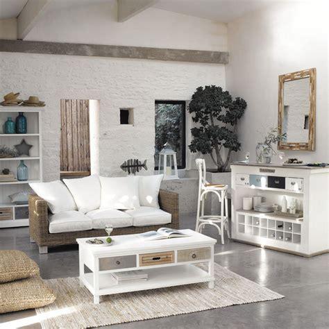 meubles et d 233 coration de style atlantique bord de mer maisons du monde salon