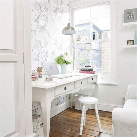 white home office decorating a bright white office ideas inspiration