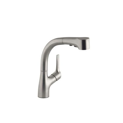 kohler elate kitchen faucet kohler elate single handle pull out sprayer kitchen faucet