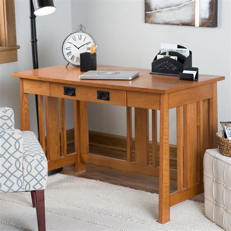 mission desk with hutch belham living everett mission writing desk with optional