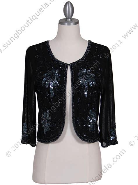 beaded bolero jackets black beaded bolero jacket sung boutique l a