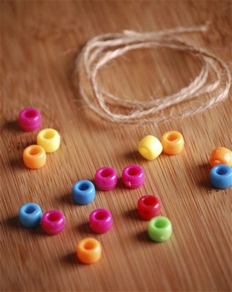 beading string string quot 100 days of school quot activity education