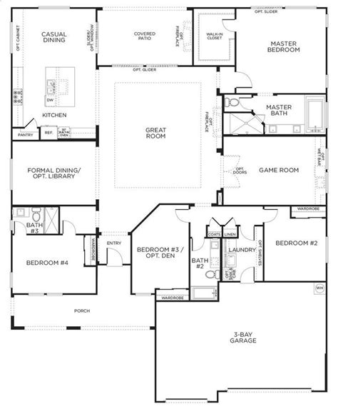 single story floor plans 17 best ideas about one story houses on sims 3
