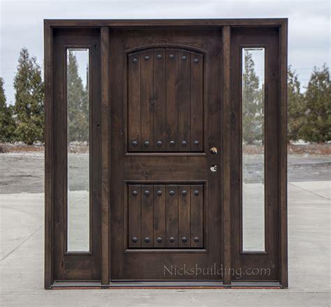 wood exterior front doors rustic wood exterior doors cl 1778