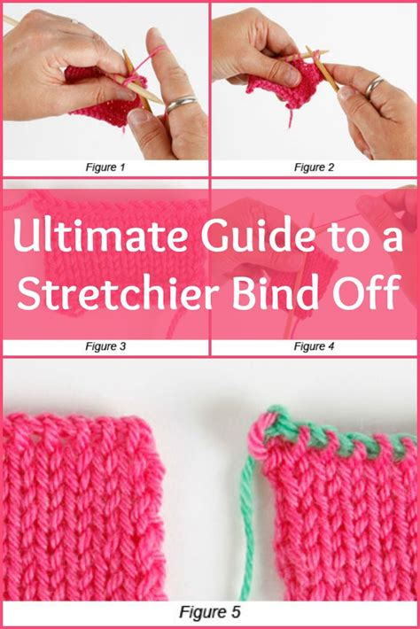 best way to bind knitting 1000 ideas about bind knitting on