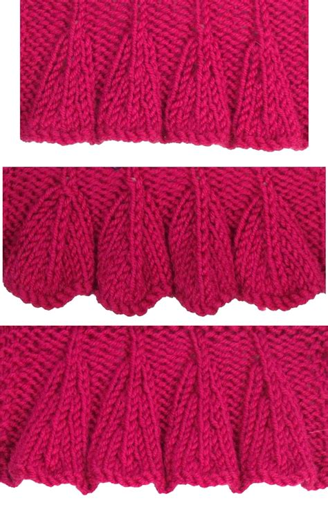 knitting edges 17 best images about june 2012 knitting stitch patterns on