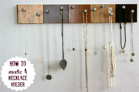 how to make jewelry hanger diy jewelry organizer c r a f t