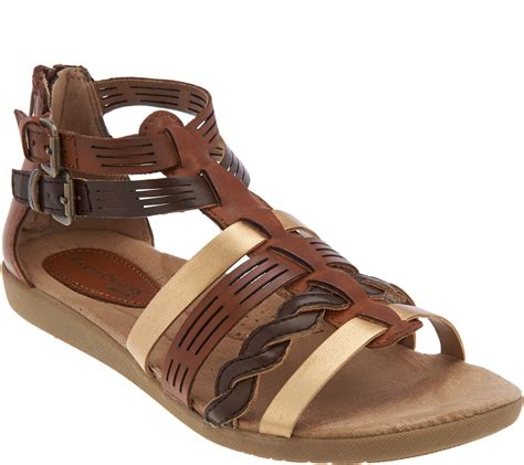 sandals with earth origins leather multi sandals page