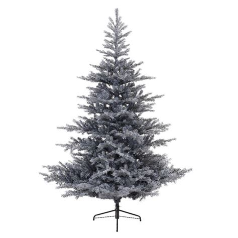 7 ft frosted tree kaemingk everlands frosted grandis fir tree