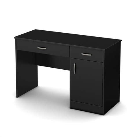 small computer desk black south shore axess small computer desk in black 7270070
