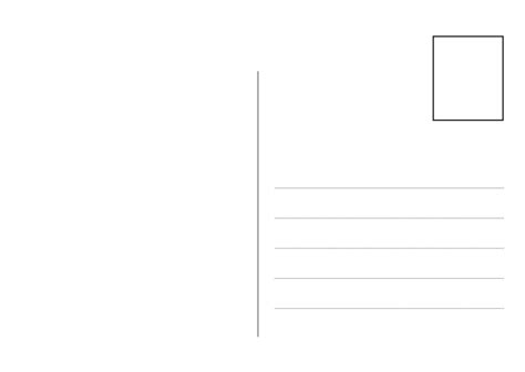 printable postcard templates calendar template 2016
