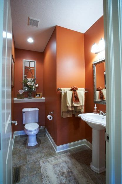 orange bathroom ideas 25 best ideas about orange bathrooms on
