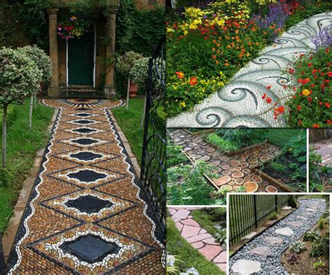 pathway designs 12 lovely garden path and walkways ideas home and