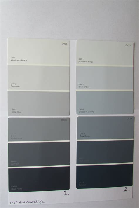 different shades of gray how to the gray paint a popular color
