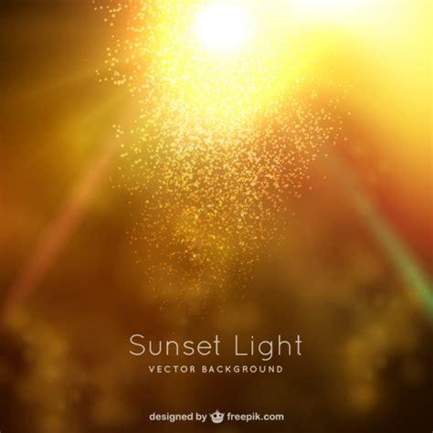 lights images sunset light background vector free