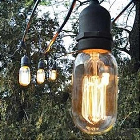 Mitsubishi Lamps For Tv by Bulbrite String15 E26 A19kt Outdoor String Light W Vintage