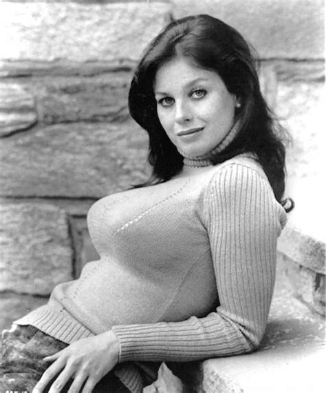 LANA WOOD 1972 A PLACE CALLED TODAY busty sweater girl b/w