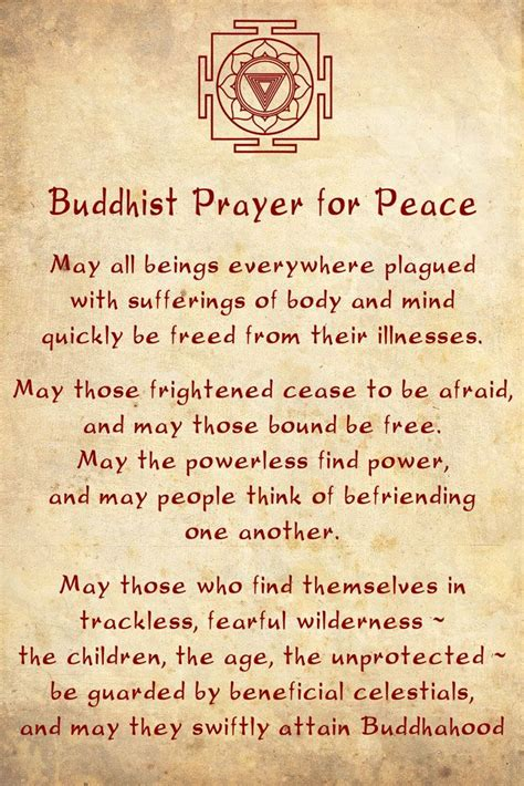 Prayer For Peace I Am Not A Buddhist But This Prayer Is