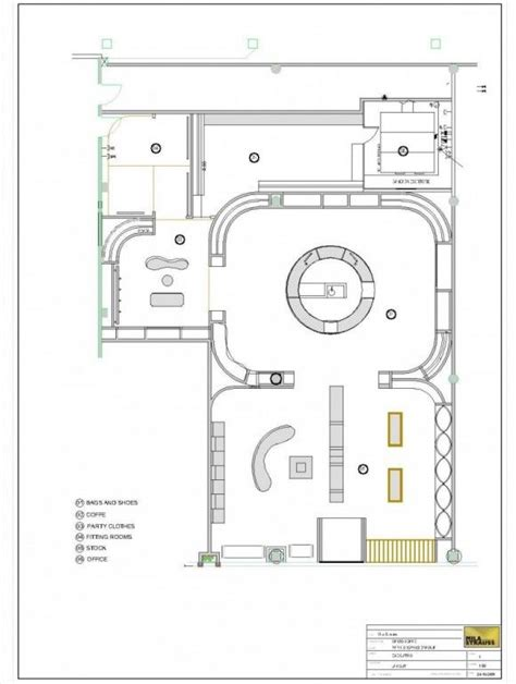 floor plan of retail store maison saad fashion store floor plans s t o r e