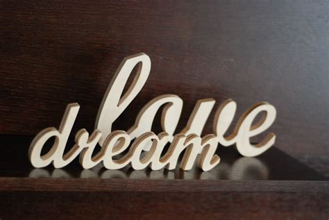 wooden word decorations for walls interior design ideas