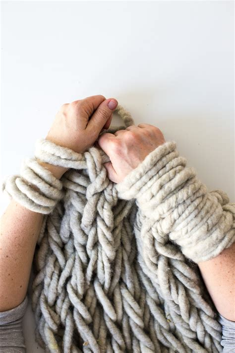 best yarn for arm knitting six ways to make your arm knitting tighter flax twine