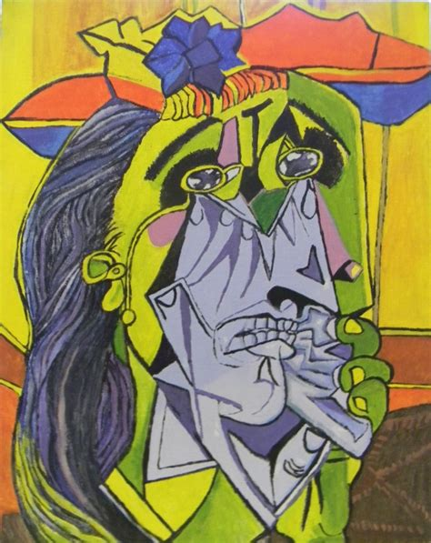 picasso paintings the weeping weeping picasso by lilrich731 on deviantart