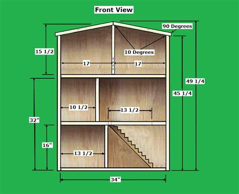 18 inch doll house plans free work with wood project ideas woodworking plans for 18