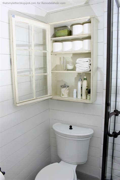 cabinet bathroom storage remodelaholic bathroom storage cabinet using an window