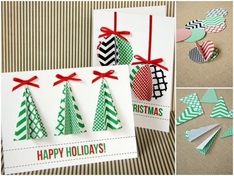 easy to make cards how to 100 easy handmade card tutorials