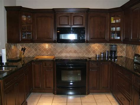 paint colors for kitchen cabinets with black appliances what colour appliances go best with espresso kitchen