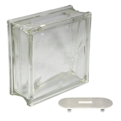 lowes craft shop redi2craft glass block common 8 in h x 8 in w x 3