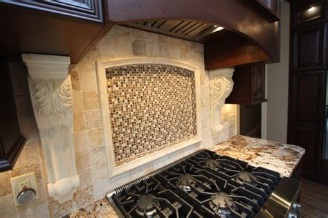 custom backsplash mirror traditional kitchen custom backsplash traditional kitchen cleveland by