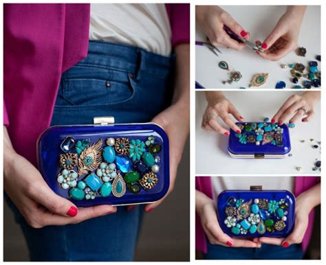 how to make costume jewelry at home 16 fancy diy clutch ideas tutorials make at home easily