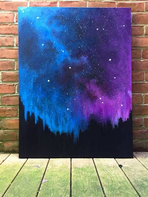 how to cover acrylic paint on canvas 1000 ideas about galaxy painting on galaxy