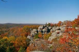Garden Of The Gods Fall The Official Enjoy Illinois A Great Scenic Drive