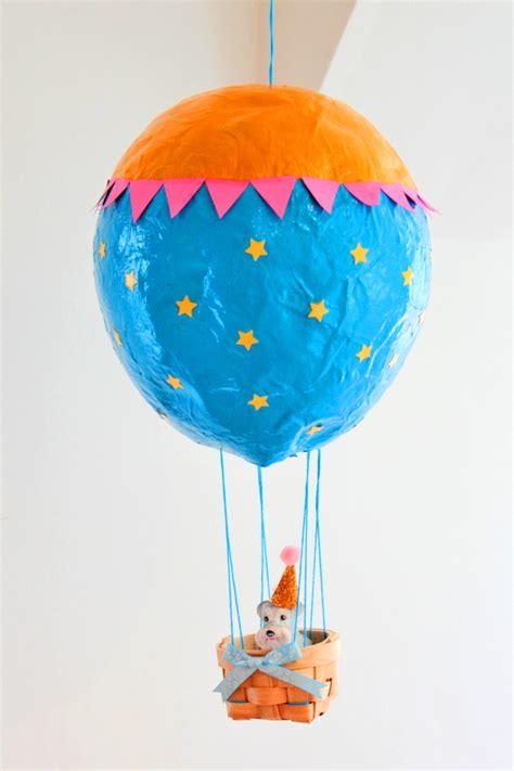 paper mache balloon crafts how to make a paper mache air balloon hobbycraft